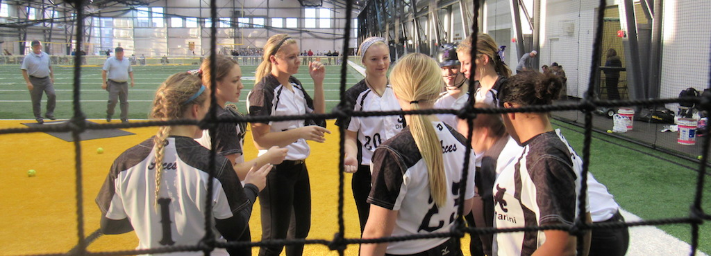 Aces go 4-0 at the PGF Indoor - Aces Fastpitch Club